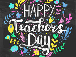 On the occasion of Teachers' Day